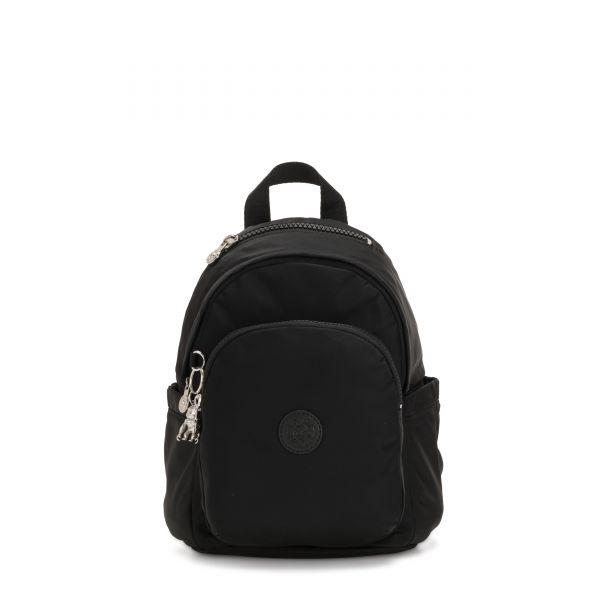 DELIA MINI Galaxy Black BACKPACKS by Kipling Front