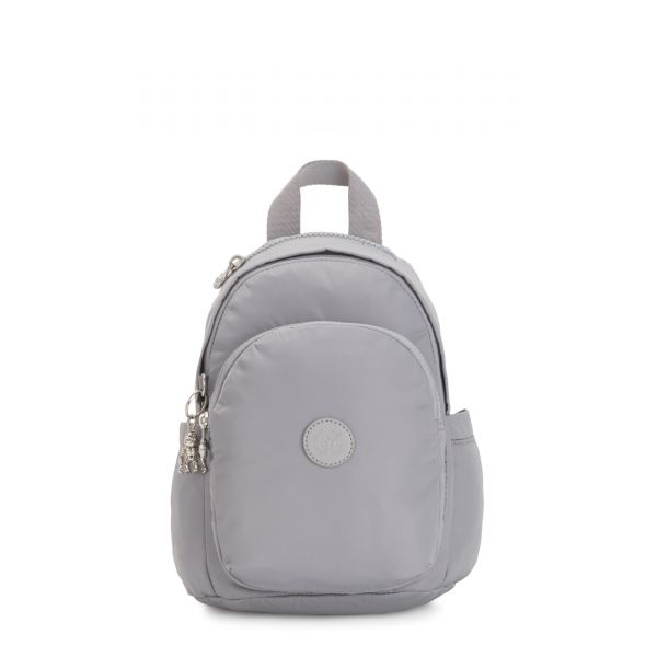 DELIA MINI Natural Grey BACKPACKS by Kipling Front