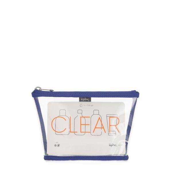 CLEARED Laser Blue TRAVEL ACCESSORIES by Kipling Front