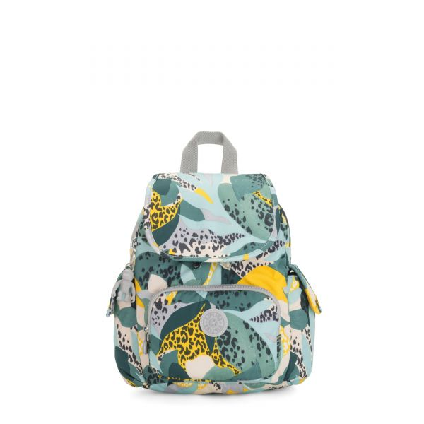CITY PACK MINI Urban Jungle BACKPACKS by Kipling Front
