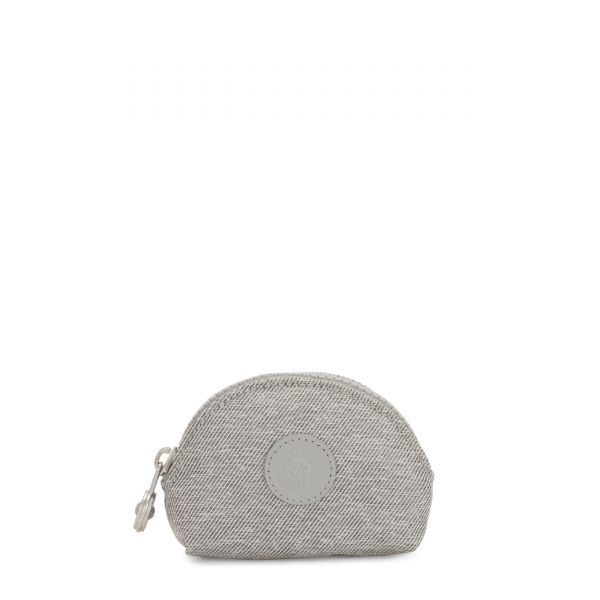 BAROE S Chalk Grey POUCHES/CASES by Kipling Front