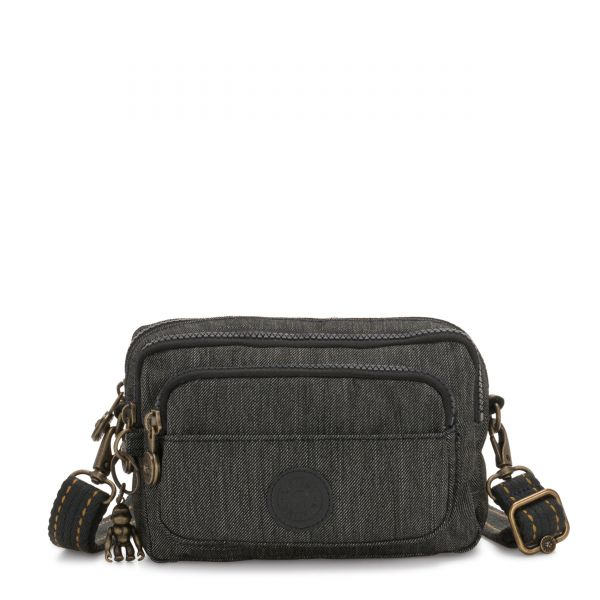 MULTIPLE Black Indigo CROSSBODY by Kipling Front