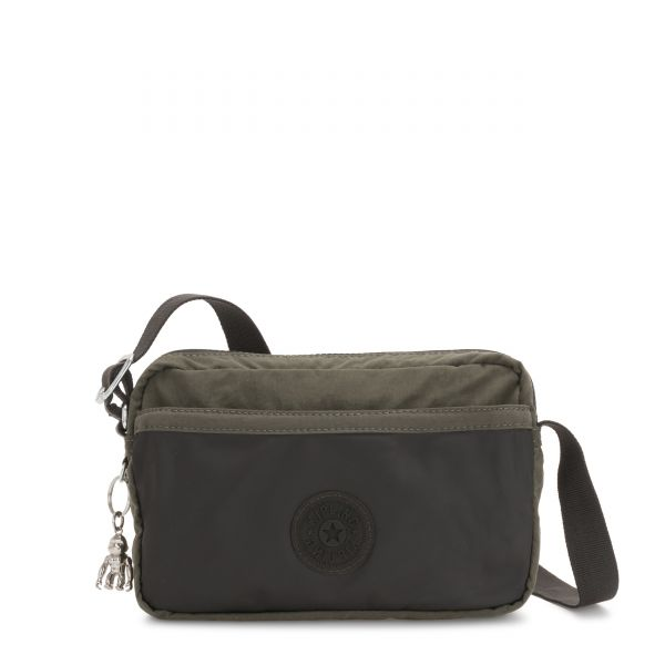 URSINA Cold Black Olive CROSSBODY by Kipling Front