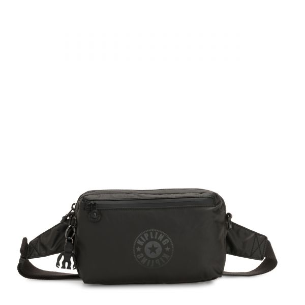 HALIMA Raw Black CROSSBODY by Kipling Front