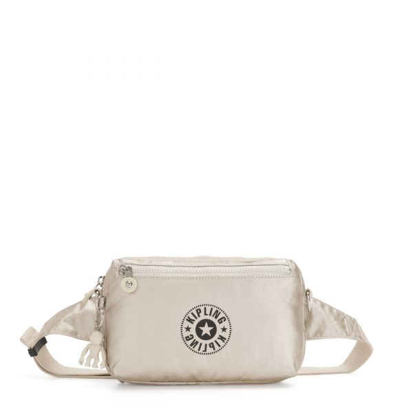 HALIMA Cloud Metal Combo CROSSBODY by Kipling Front