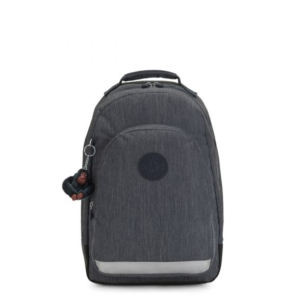 CLASS ROOM Marine Navy BACKPACKS by Kipling Front