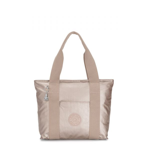 ERA S Metallic Glow Origin TOTE by Kipling Front