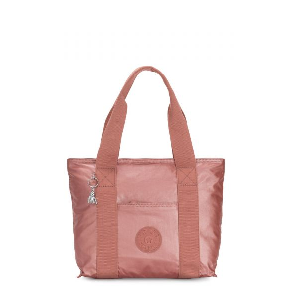 ERA S Metallic Rust Origin TOTE by Kipling Front
