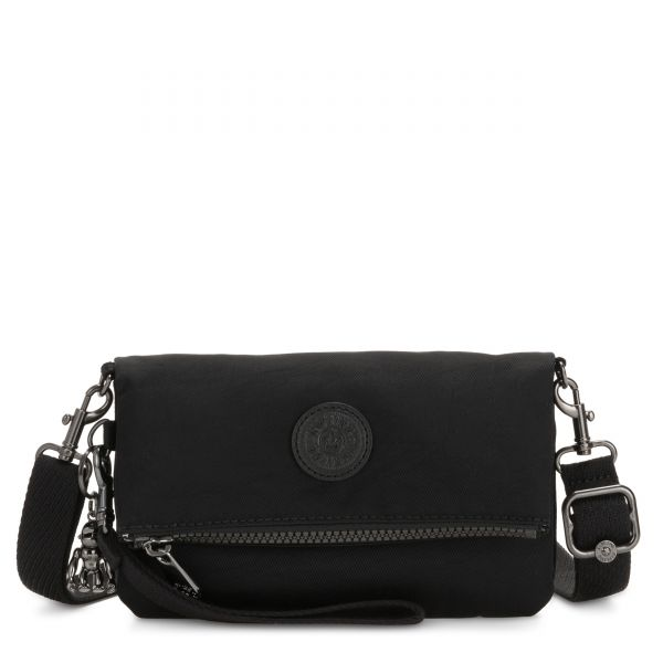 LYNNE Rich Black CROSSBODY by Kipling Front