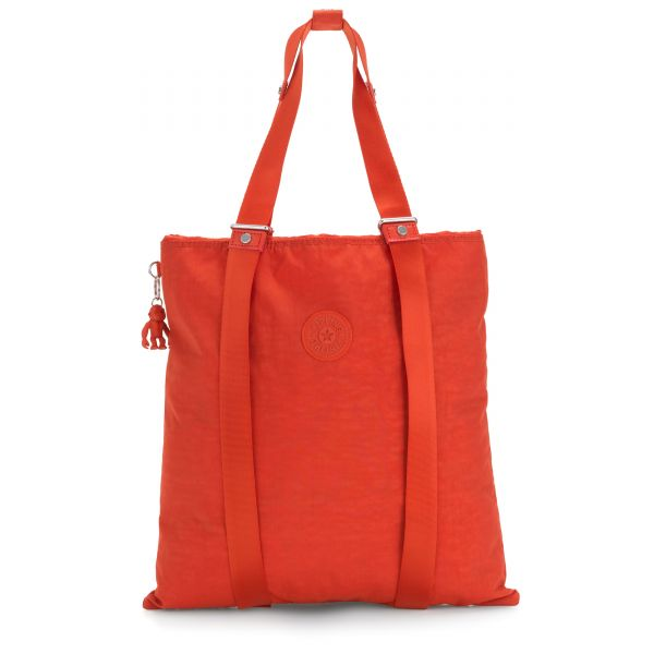 LOVILIA Funky Orange TOTE by Kipling Front