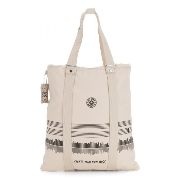 LOVILIA Music Wave Print TOTE by Kipling Front