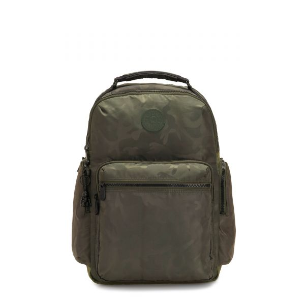 OSHO Satin Camo BACKPACKS by Kipling Front