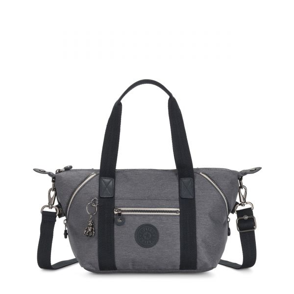 ART MINI Charcoal SHOULDERBAGS by Kipling Front