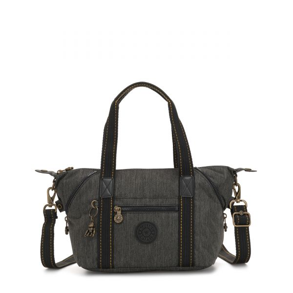 ART MINI Black Indigo SHOULDERBAGS by Kipling Front