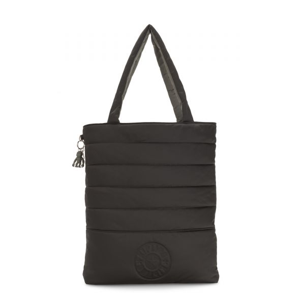 DOUBLE PUFF Mountain Black TOTE by Kipling Front