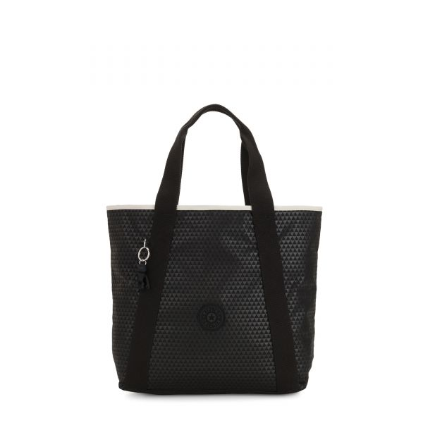 ZANE Black Club C TOTE by Kipling Front