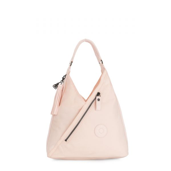 OLINA Feather Pink SHOULDERBAGS by Kipling Front