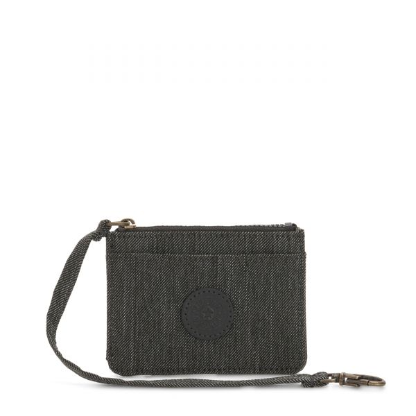 CINDY Black Indigo WALLETS by Kipling Front