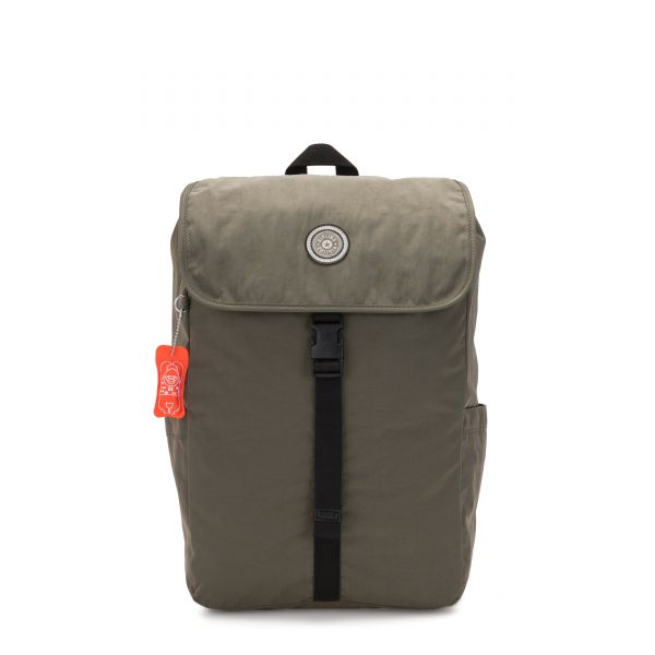 WINTON Cool Moss BACKPACKS by Kipling Front