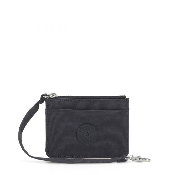 CINDY Night Grey WALLETS by Kipling Front