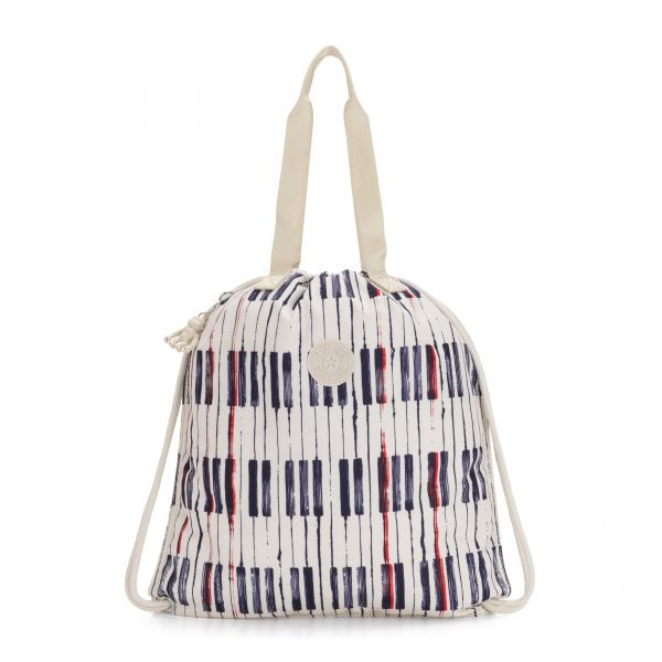 HIPHURRAY Piano Print TOTE by Kipling Front
