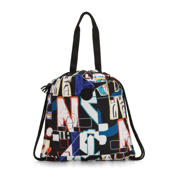 HIPHURRAY Alphabet Print TOTE by Kipling Front