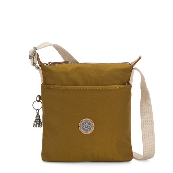 KALAO Mustard Green CROSSBODY by Kipling Front