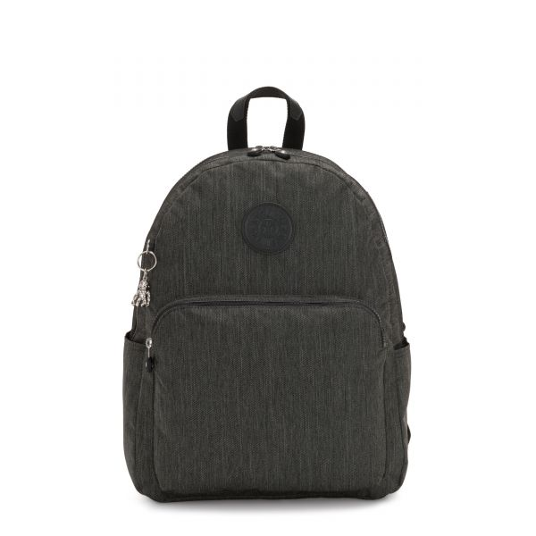 CITRINE Black Indigo Work BACKPACKS by Kipling Front