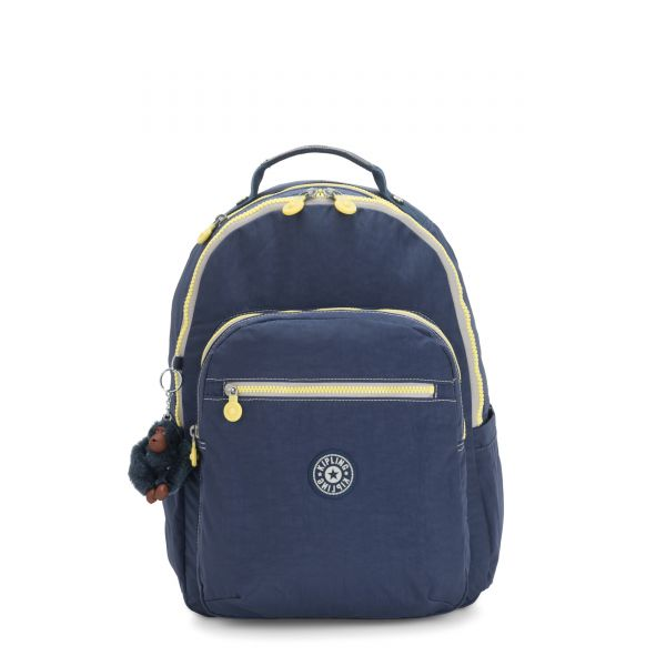 SEOUL Blue Thunder BACKPACKS by Kipling Front