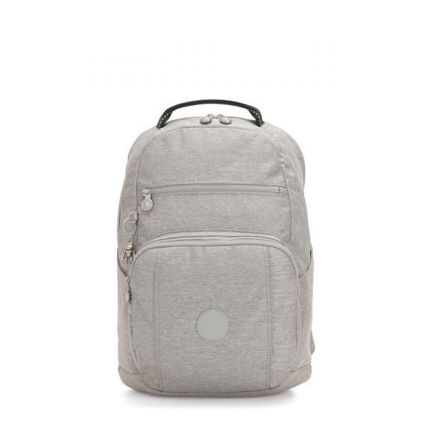 TROY Chalk Grey BACKPACKS by Kipling Front