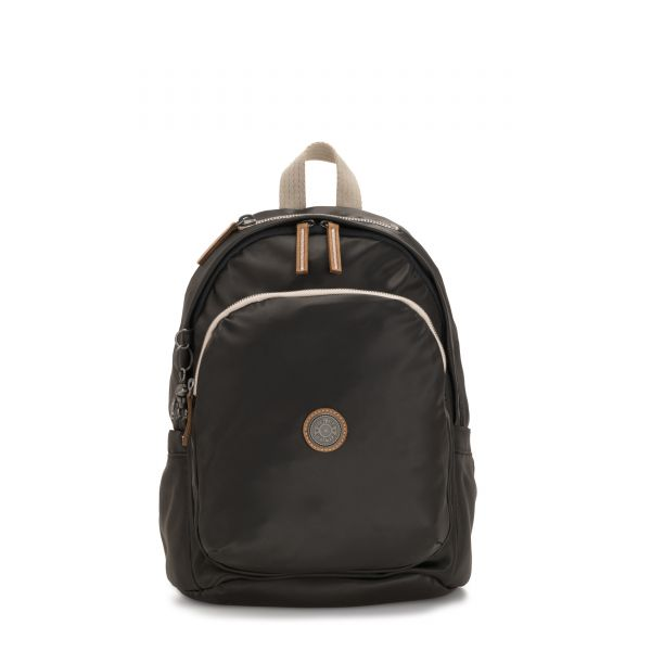 DELIA Delicate Black BACKPACKS by Kipling Front