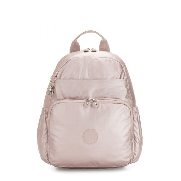 MAISIE Metallic Rose BABY BACKPACKS by Kipling Front