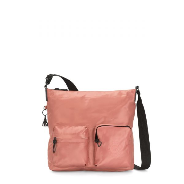 PANKA Satin Rust CROSSBODY by Kipling Front