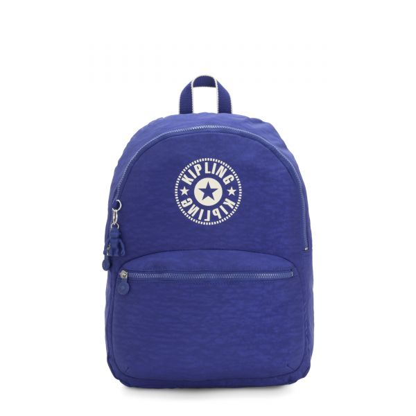 KIRYAS Laser Blue BACKPACKS by Kipling Front