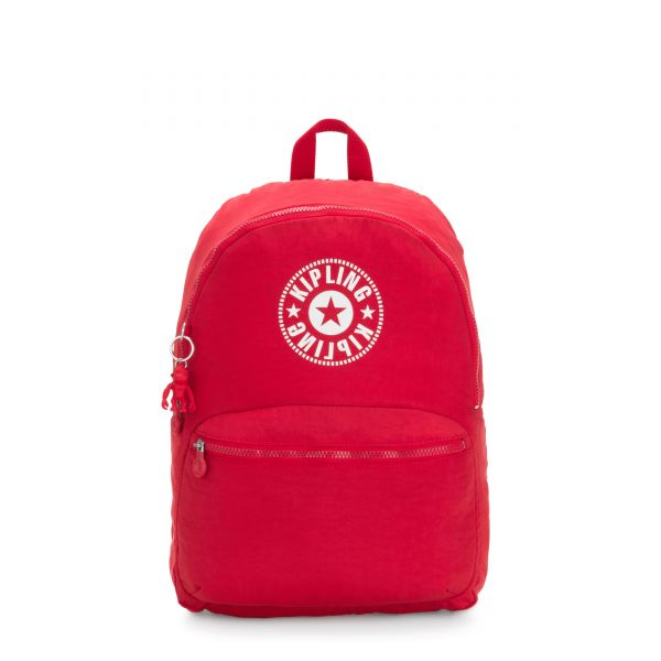KIRYAS Lively Red BACKPACKS by Kipling Front