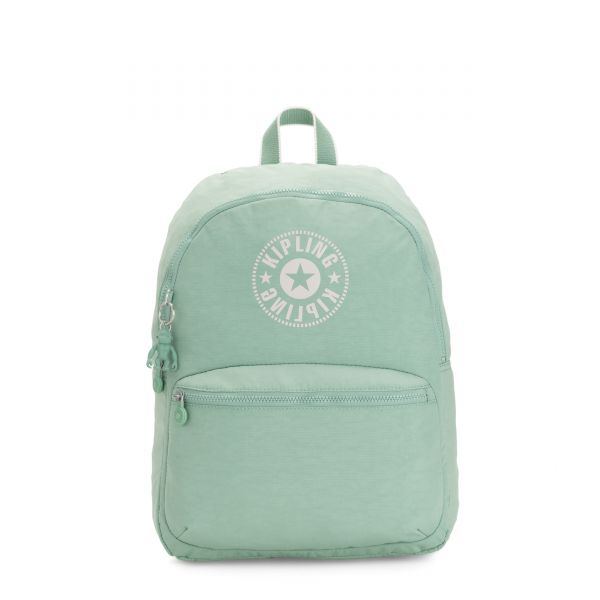 KIRYAS Frozen Mint BACKPACKS by Kipling Front