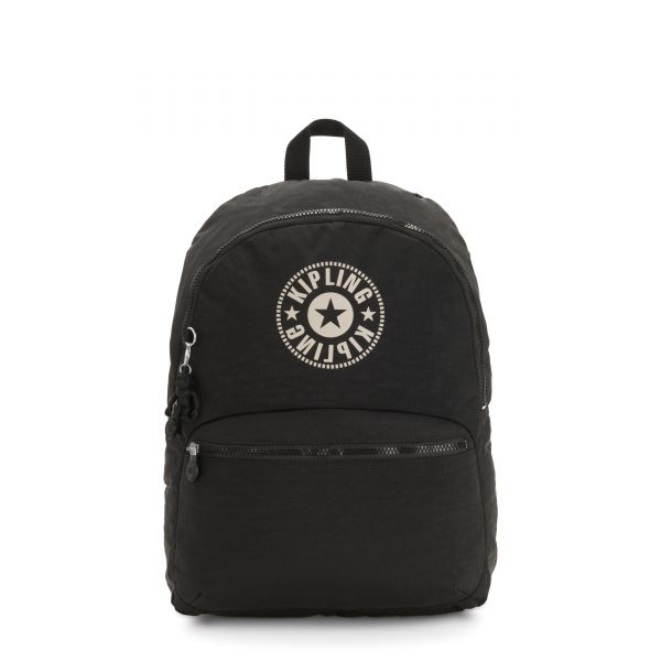 KIRYAS Lively Black BACKPACKS by Kipling Front