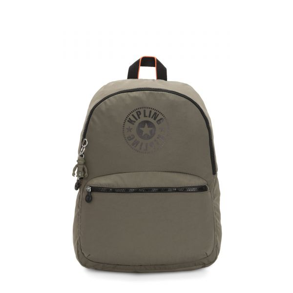 KIRYAS Cool Moss New Classics BACKPACKS by Kipling Front