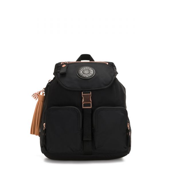 INAN Rose Black TOTE by Kipling Front