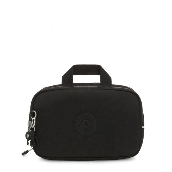 JACONITA Black Noir TRAVEL ACCESSORIES by Kipling Front