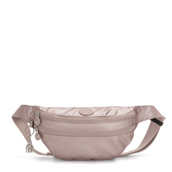 SARA Metallic Rose CROSSBODY by Kipling Front