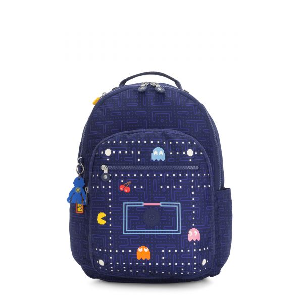 SEOUL Pac Man Good BACKPACKS by Kipling Front