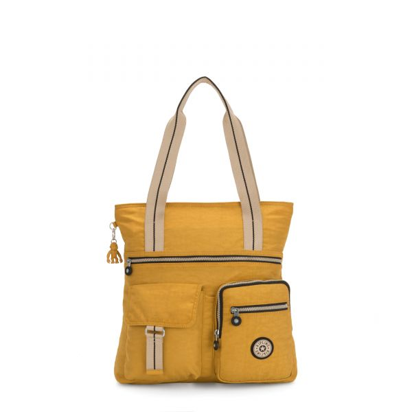ANDOR Spicy Yellow TOTE by Kipling Front