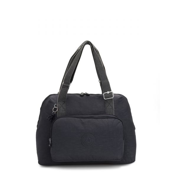 LENEXA Night Grey BABY BAGS by Kipling Front