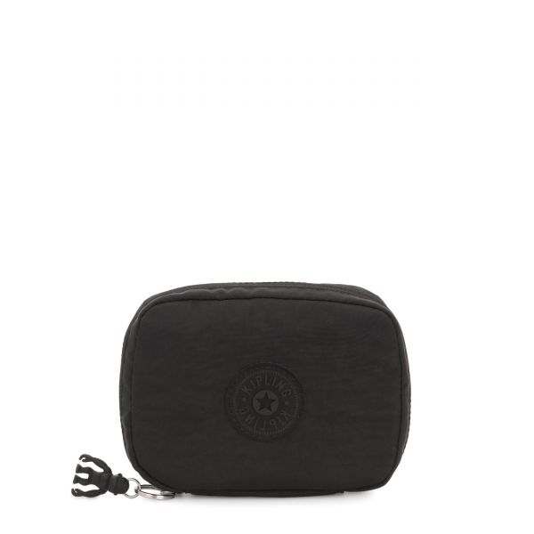 LAJAS Black Noir POUCHES/CASES by Kipling Front
