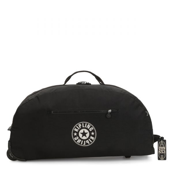 DEVIN ON WHEELS Lively Black CARRY ON by Kipling Front
