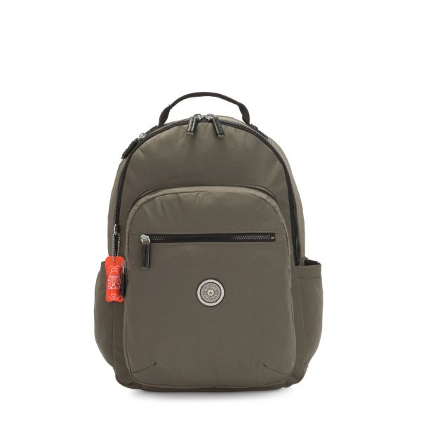 SEOUL Cool Moss BACKPACKS by Kipling Front