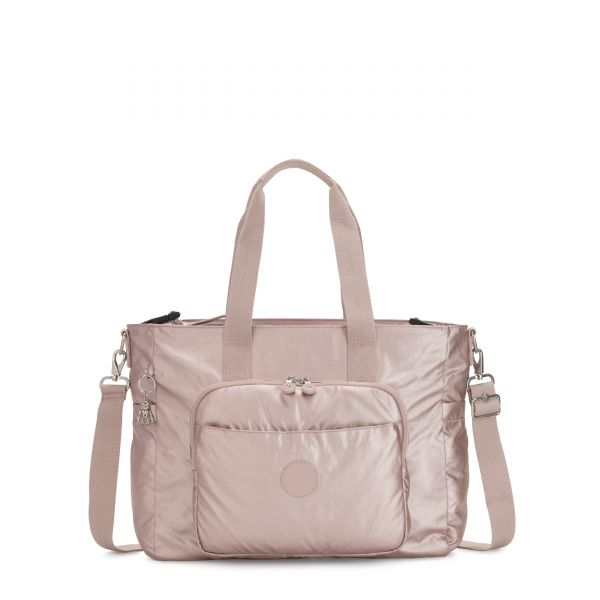 MIRI Metallic Rose BABY BAGS by Kipling Front