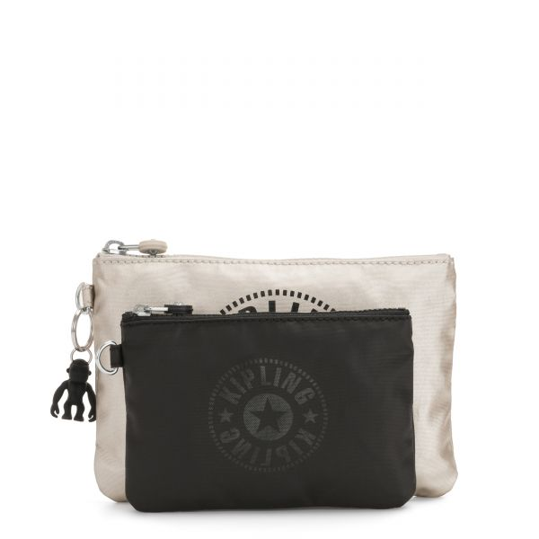 DUO POUCH Cloud Metal Combo POUCHES/CASES by Kipling Front