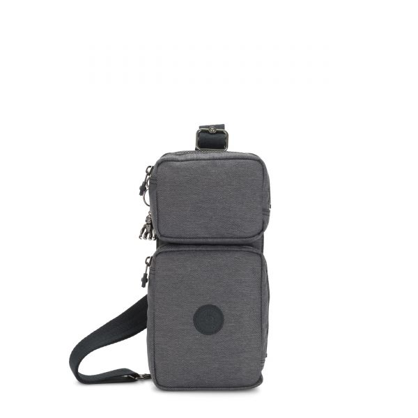 OVANDO Charcoal CROSSBODY by Kipling Front